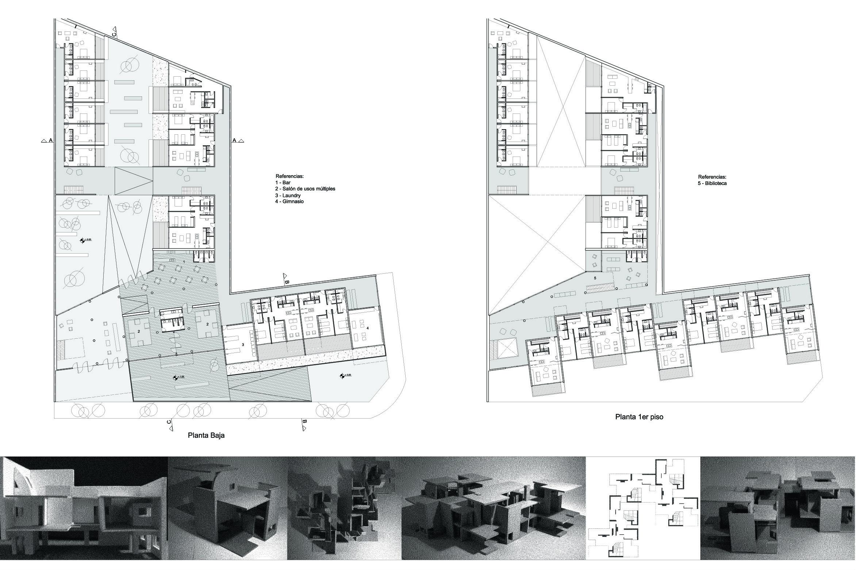 Conjunto de viviendas arquitectura dise o - Viviendas de diseno ...